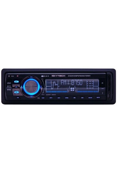 SKYTECH SKT 707 Dvd/MP4/Divx/Vcd/MP3/Usb/Sd/MMC Oto Mp3 Çalar