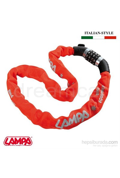 Lampa Snake Combi Zincir Kilit 4 Şifreli 100 cm 90629