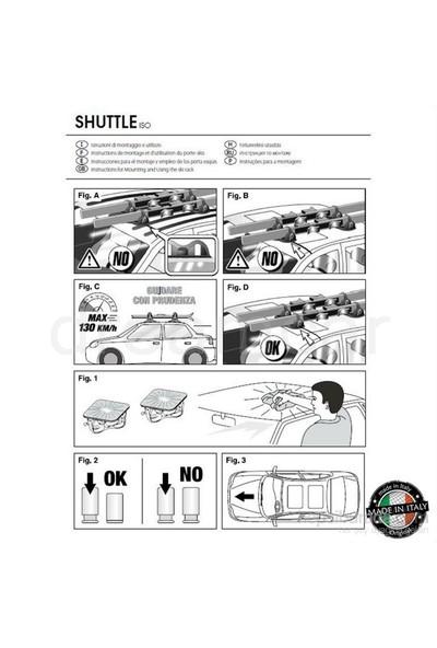Shuttle Kayak Bagajı Made in Italy