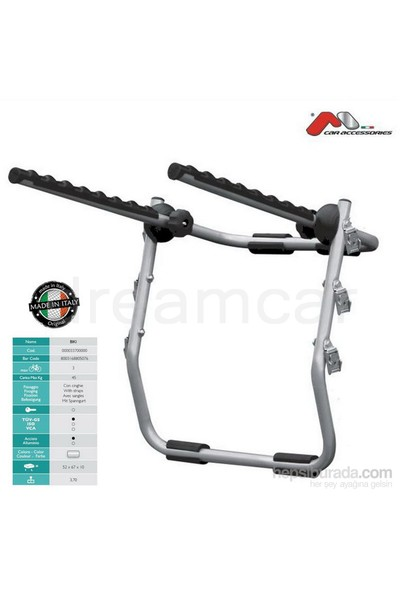 Biki Bisiklet Bagajı Çelik Made in Italy