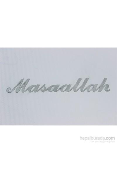 ModaCar MAŞAALLAH Aliminyum Nikelaj Sticker 06a127