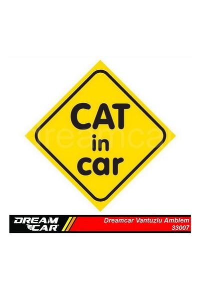 Dreamcar Vantuzlu Amblem ''Cat In Car'' 3300708