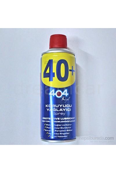404 40+ Koruyucu Yağlayıcı Sprey 400 Ml.
