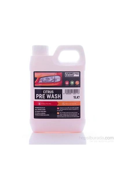 Valet Pro Citrus PRE Wash - Konsantre Güvenli Ön Yıkama Şampuanı 1 L