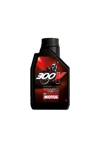 Motul 300V FL Off Road 15W60 1 Litre Motosiklet Yağı