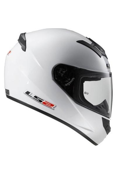 Ls2 Beyaz Beyaz Kask