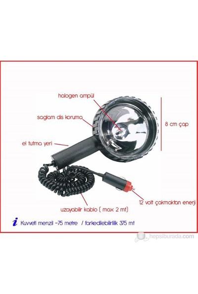 ModaCar El Projektörü 8 cm Çap 425355