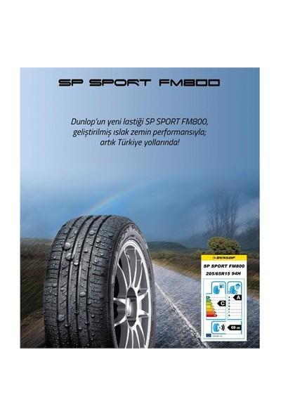 Dunlop 225/50 R17 94W SP Sport FM800 Oto Yaz Lastiği ( Üretim Yılı: 2021 )