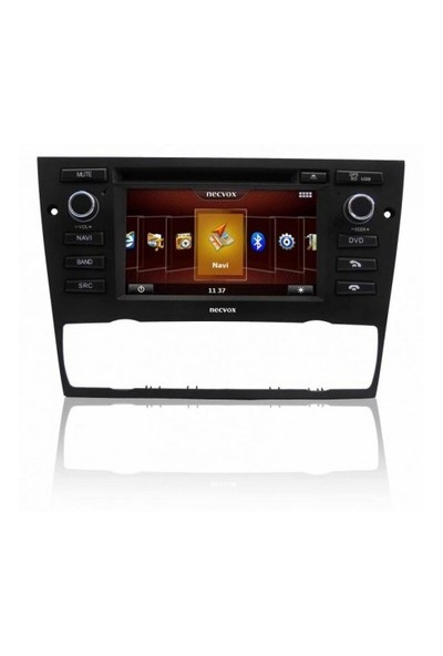 Necvox Dvn-p 1061 Hd Bmw E 90 Digital+manual Platinum 7 Inch Double Din Navigasyonlu Multimedya Ciha