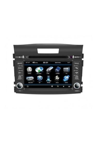 Necvox Dva 9957 Hd Honda Crv 2012 Black Edition 7 Inch Navigasyonlu Multimedya