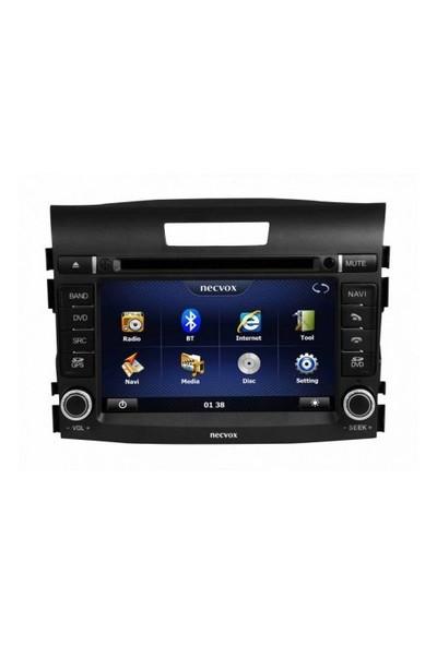 Necvox Dvn-p 1057 Honda Crv Platinum Navigasyonlu Multimedya