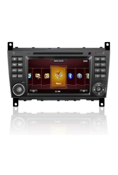 Necvox Dvn-p 1069 Hd Mercedes C Class New Platinum 7 Inch Double Din Navigasyonlu Multimedya Cihazi