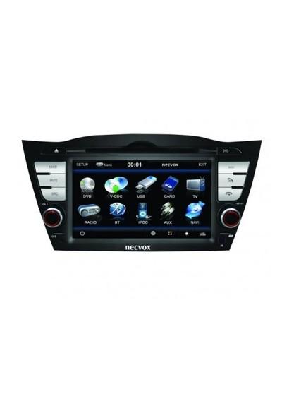 Necvox Dva 9919 Hd Hyundai Ix 35 Black Edition 7 Inch Navigasyonlu Multimedya