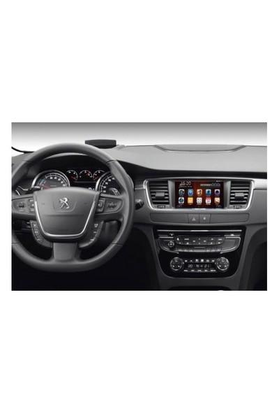 Necvox Dva 9976 Hd Peugeot 508 Black Edition 7 Inch Navigasyonlu Multimedya