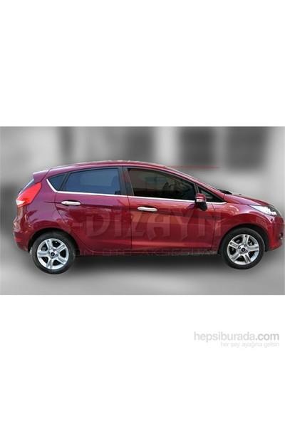 S-Dizayn S-Dizayn Ford Fiesta Cam Çıtası 8 Prç. P.Çelik (2009>)