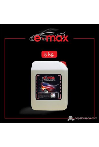 E-max Carnauba CİLA Katkılı Yıkama Şampuanı 5 KG KONSANTRE