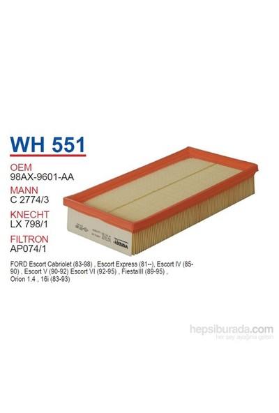 Wunder FORD FOCUS 1.4 16v,1.8 16v - FiESTA - CONNECT Hava Filtresi OEM NO: 98AX-9601-AA