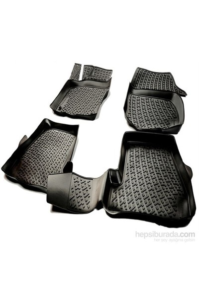 L.Locker Fiat Fiorino 2008 Sonrası 3D Havuzlu Paspas
