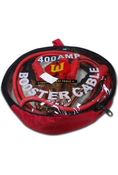 AutoCsi 12550 Akü Takviye Kablosu 400A 2,5MT