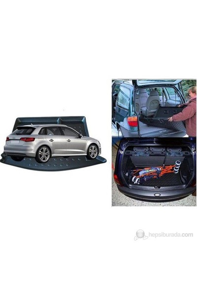 ModaCar M-Flex SİYAH AUDI A3 HB 2013 >> Bagaj Havuzu 85h193