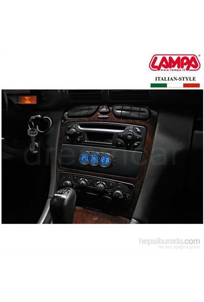Dreamcar Seyio Rcd 39 Lcd Saat+İç Dış Termometre+Takvim