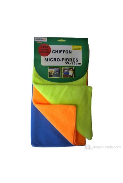 Autocsi Chiffon 3 lü Mikrofiber Bez 35x35 cm 20076