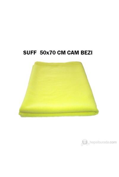 Suff 50x70 cm Mikrofiber -Sarı-Cam Bezi 20235
