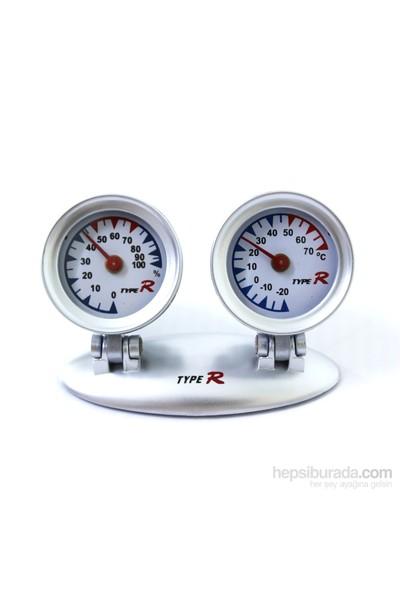 ModaCar Araç ve Her Alanda Termometre Higrometre Göstergesi 424009