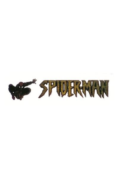 Spider Man Aluminyum Dizayn Sticker