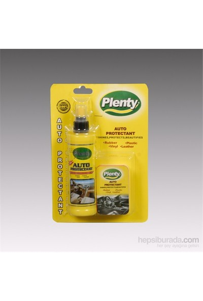 Plenty Süngerli Torpido Parlatıcı Süt Silikon, Limon 250 ML