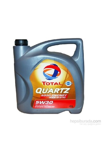 Total Quartz 9000 Energy - 5w30 4 LT Benzin Dizel Motor Yağı