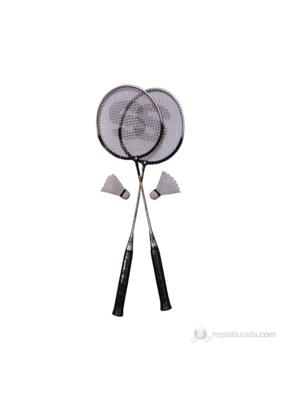 Selex P300 Badminton Set (2 Raket + 2 Top)