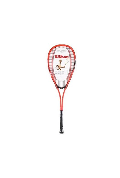 Wilson Wrt 912930 Impact Pro 300 Kırmızı 204 Gr Squash Raketi