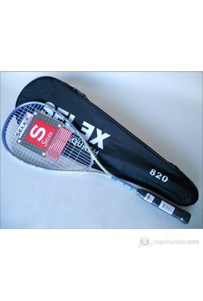 Selex 820 Tek Parça Squash Raketi