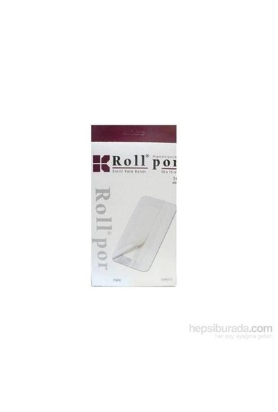 Roll Por Steril Yara Bandı 10 X 15 Cm