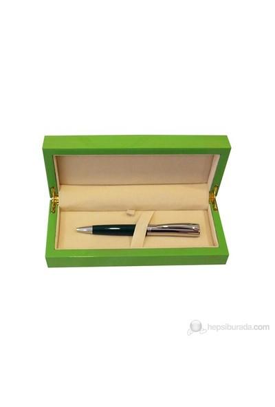 Steelpen Wood Yeşil Tükenmez Kalem 914
