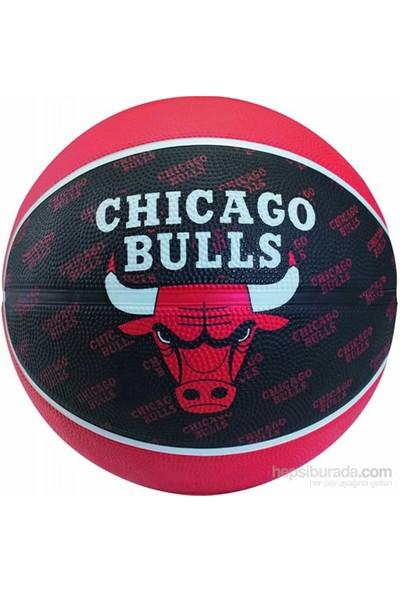 Spalding Basketbol Topu NBA Team Bulls N:7 Rbr B (73-933Z)