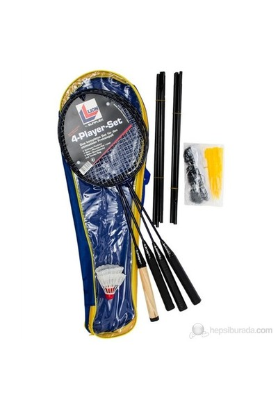 Sunflex Badminton 4-Player Set