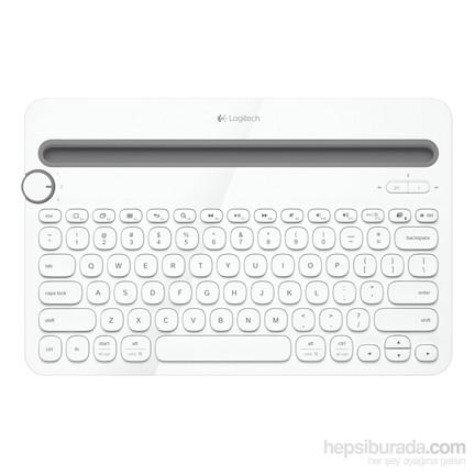 Logitech K480 Multi-Device Bluetooth Beyaz Klavye (920-006371)