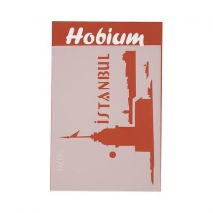 Hobium Istanbul Kız Kulesi şekilli Stencil şablon 5070 Fiyatı