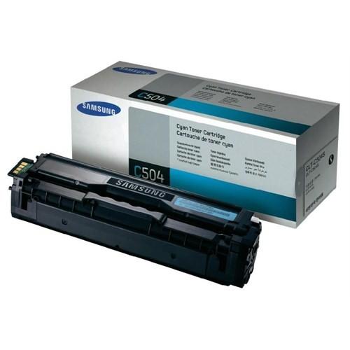Samsung CLT-C504S 1800 Sayfa Kapasiteli Mavi Toner