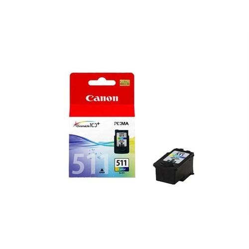 Canon Orjinal Canon Cl 511 Renkli Kartuş Bk Sistemi İçin Hazır