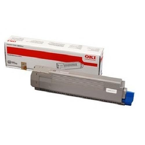 Okı 44643006 Kırmızı Toner / C801, C821 / 7300 Sayfa