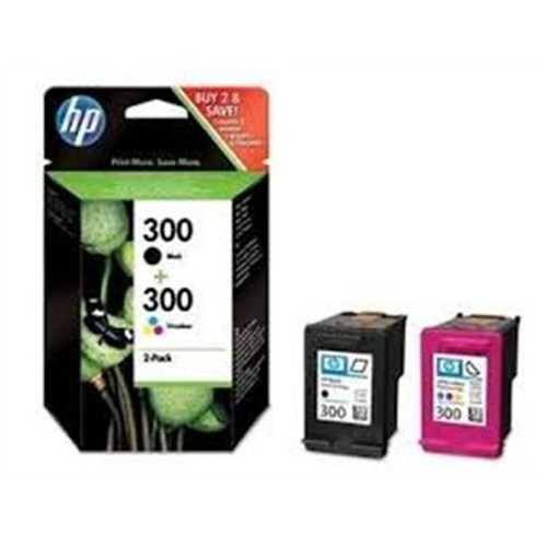 Hp 300 Siyah+3 Renk Kartuş - Cn637e