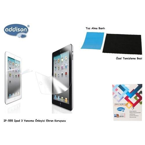 Addison Ip-555 İpad 3 Mat Ekran Koruyucu