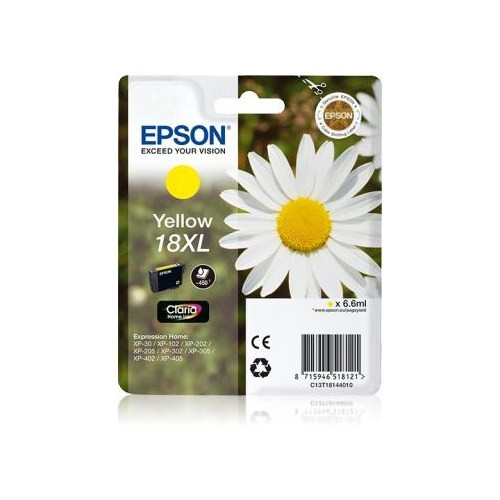 Epson C13t18144020 Yellow-18Xl-Exprss Home Xp-202/205/305/405 6,