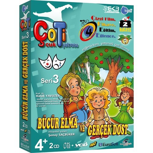 Eurosoft Çoti Çocuk Tiyatrosu Bücür Elma Ve Gerçek Dost