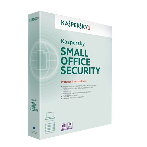 Kaspersky Small Office 3 1 Server + 5 PC + 5 Mobil 3 Yıl