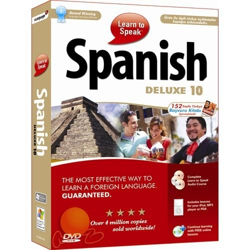 Learn To Speak Spanish Deluxe 10