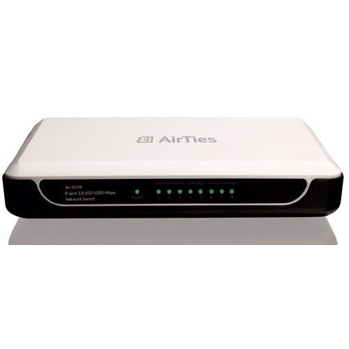 Airties Air 0208 8 Portlu 10/100/1000Mbps Gigabit Ethernet Switch